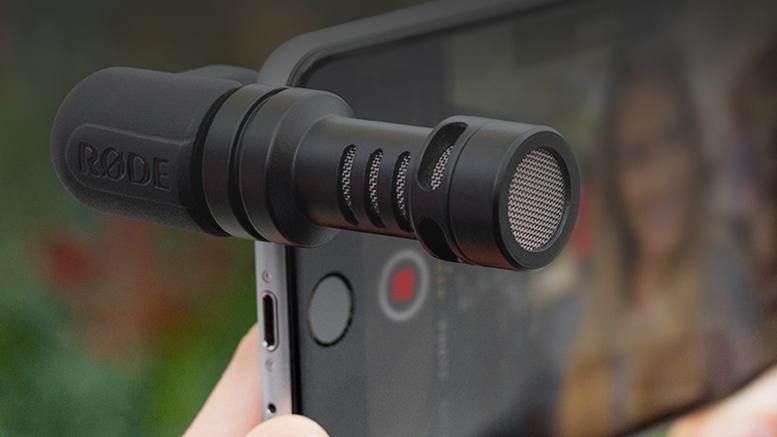 Внешние микрофоны для смартфонов