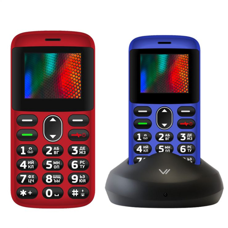 Купить простой сотовый телефон для пенсионеров с большими кнопками