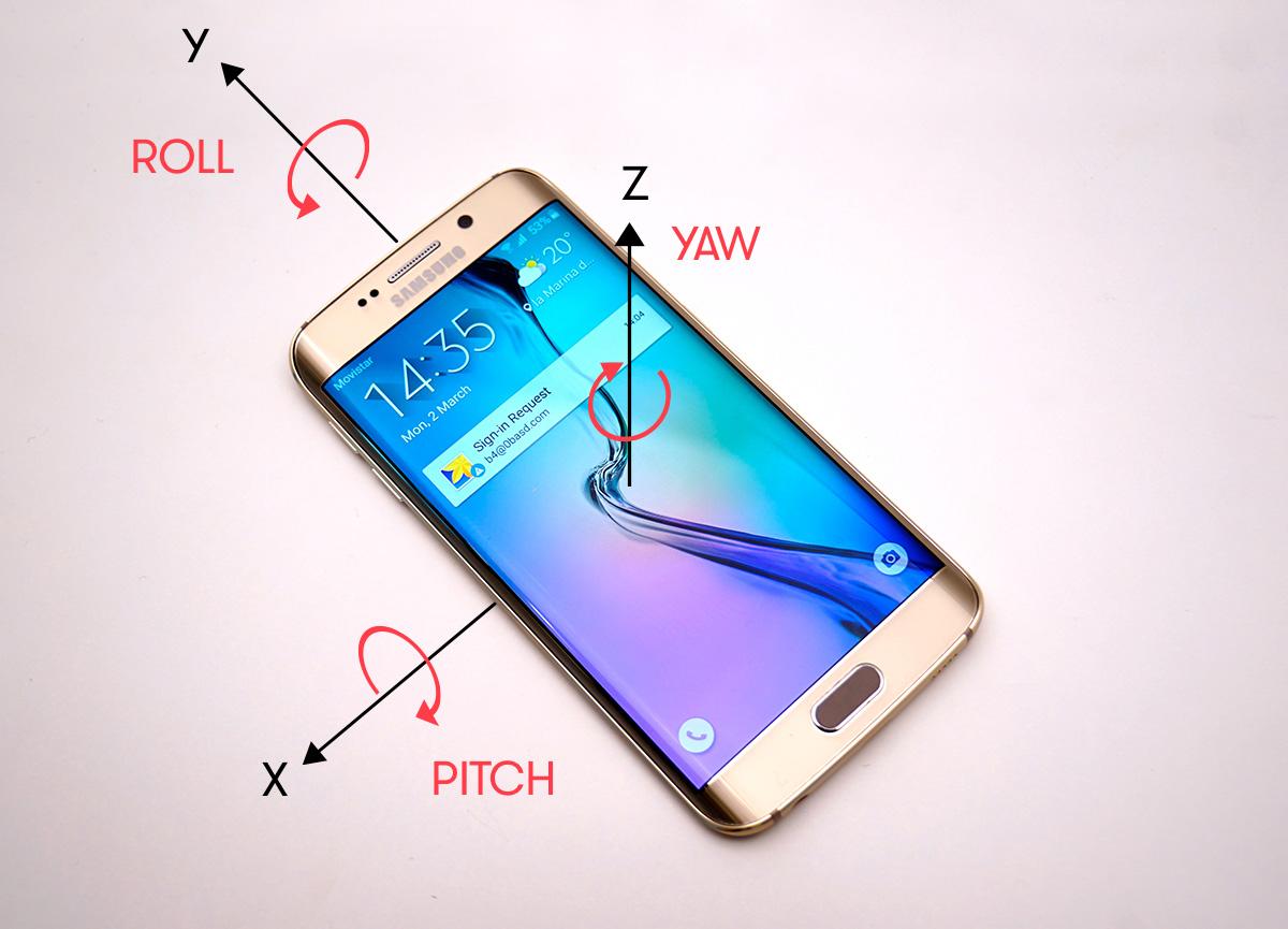гонки для смартфона с гироскопич