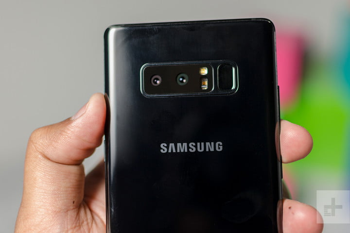 galaxy note 8 vs. galaxy s8 plus camera