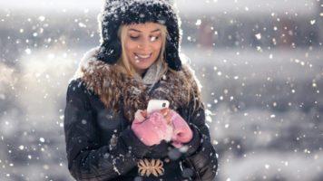 Готовим смартфон к зиме