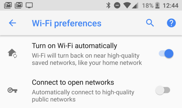 android 8 oreo smarter wifi