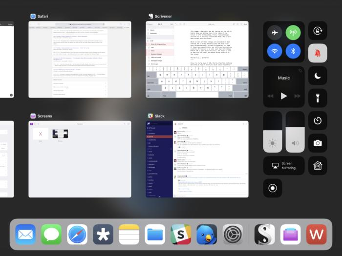 ios11 multitasking