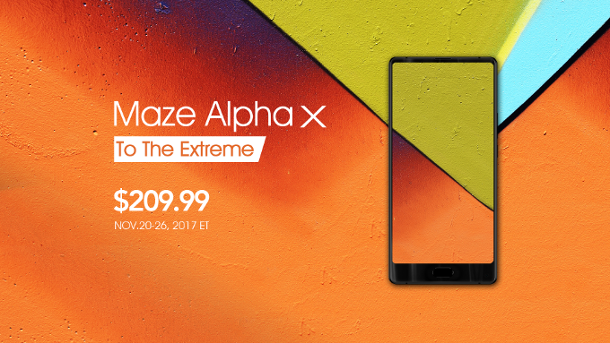 "Maze Alpha X shape-shifts to a tall 6"" display, backed by 3900 mAh battery and 6GB RAM"