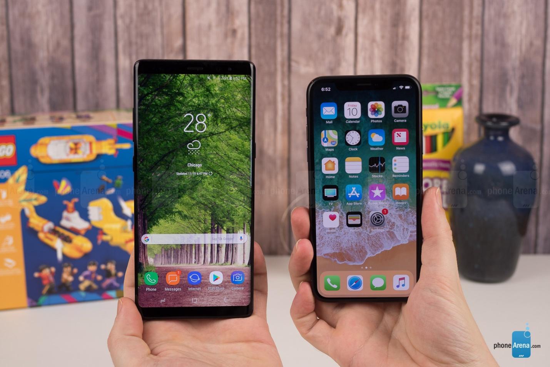 https://i-cdn.phonearena.com/images/reviews/212410-image/Apple-iPhone-X-vs-Samsung-Galaxy-Note-8-001.jpg
