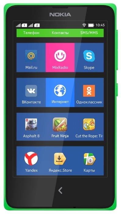 смартфон Nokia X Dual sim