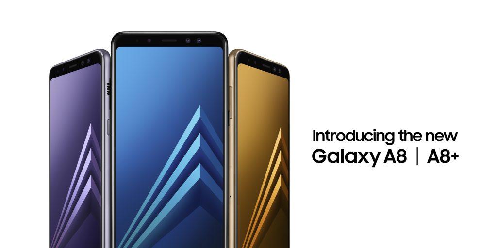 Samsung Galaxy A8 (2018) and Galaxy A8+ (2018)