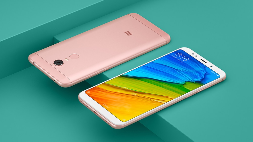 Xiaomi Redmi 5 Plus 4G Phablet 5.99 inch Snapdragon 625 Octa Core 2.0GHz 3GB RAM 32GB ROM FHD+ Screen 12.0MP Camera