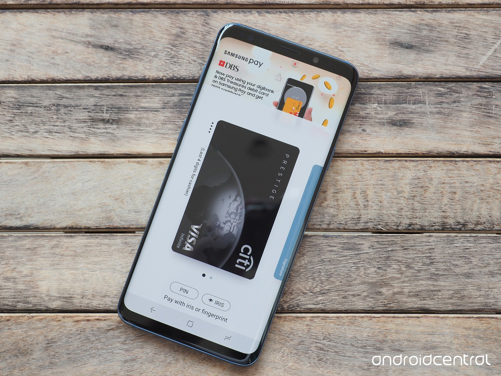 Samsung Galaxy S9+ Samsung Pay