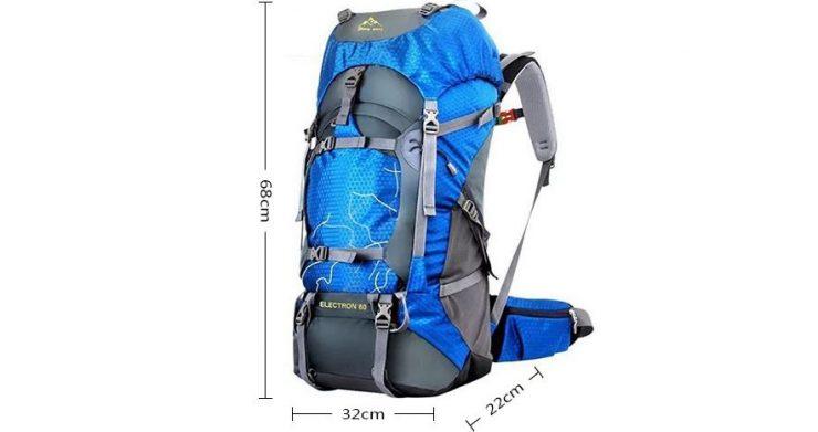 Fengtu 435 Water-resistant Nylon Climbing Backpack Bag