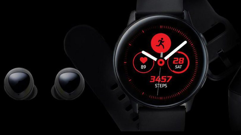 Galaxy Buds-Galaxy Watch Active
