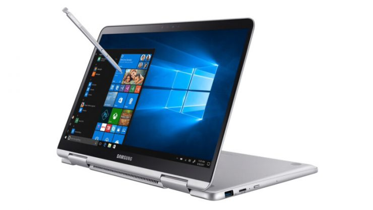 Samsung Notebook 9 with pen - the best Samsung laptops