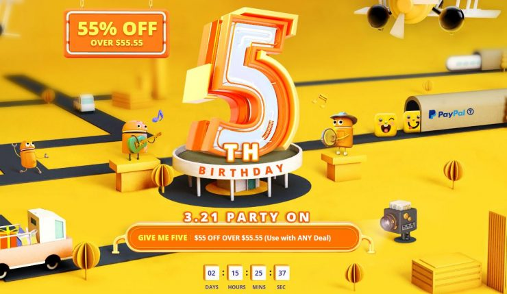 5th birthday sale