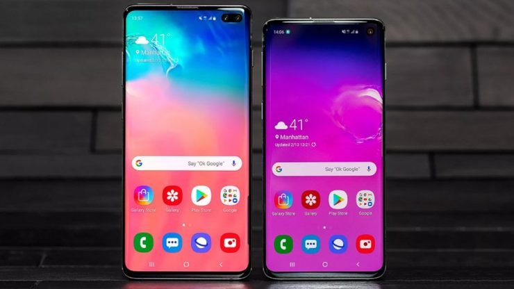 Картинки по запросу Samsung Galaxy S10 и S10 Plus сравнение