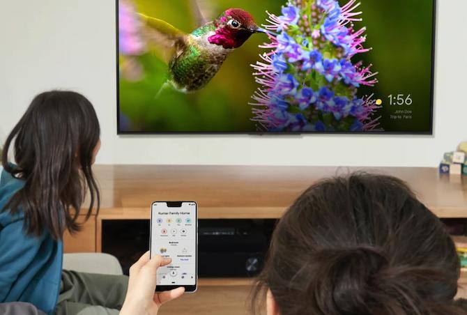 Using Google Chromecast with the Home app