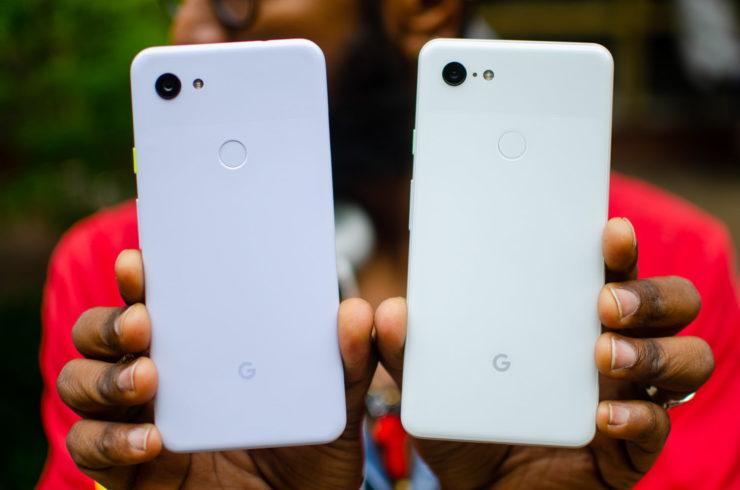 Google Pixel 3a vs 3