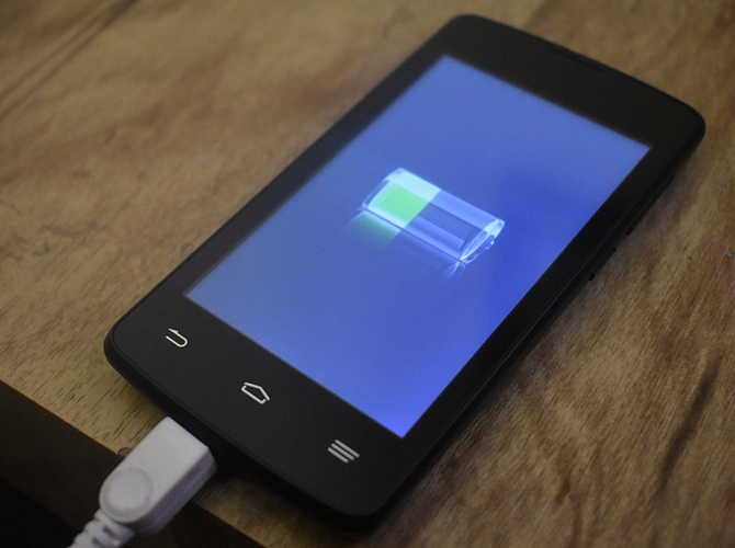 Android Phone Battery Charging
