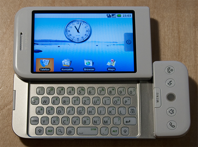 Android First Released Smartphone HTC Dream