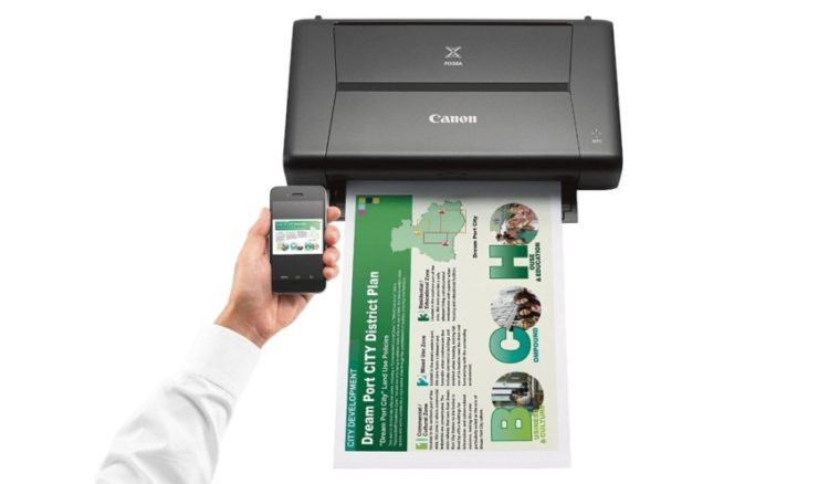 Best mobile printers - Canon Pixma iP110