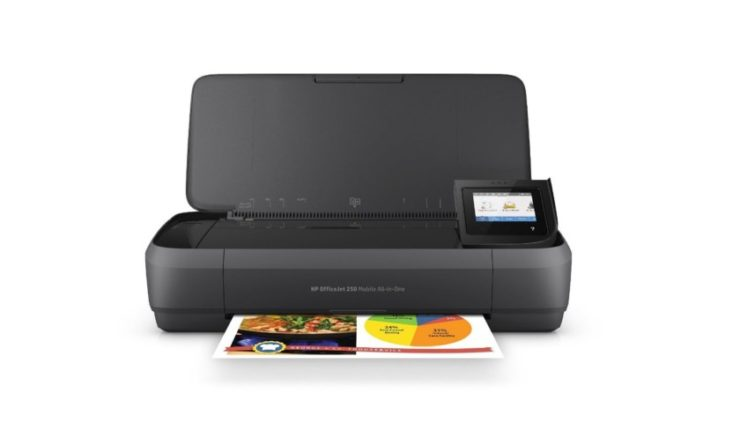 Best mobile printers - HP OfficeJet 250