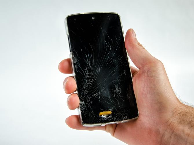 Android Phone Broken Screen