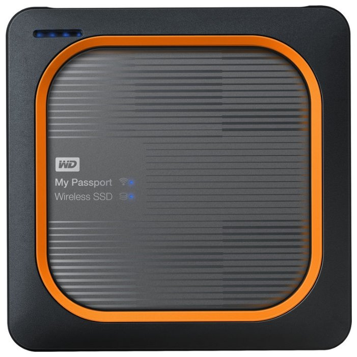 Внешний SSD Western Digital My Passport Wireless SSD 500 GB (WDBAMJ5000AGY)
