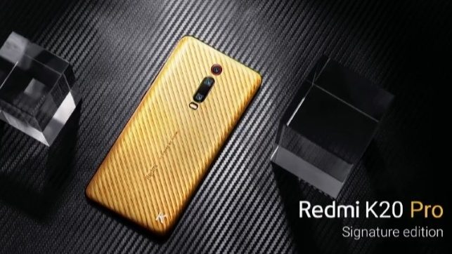 Redmi K20 Pro Signature Edition
