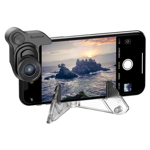 Olloclip Набор объективов + подставка Mobile photography box set OC-0000257 для iPhone X – фотография 1