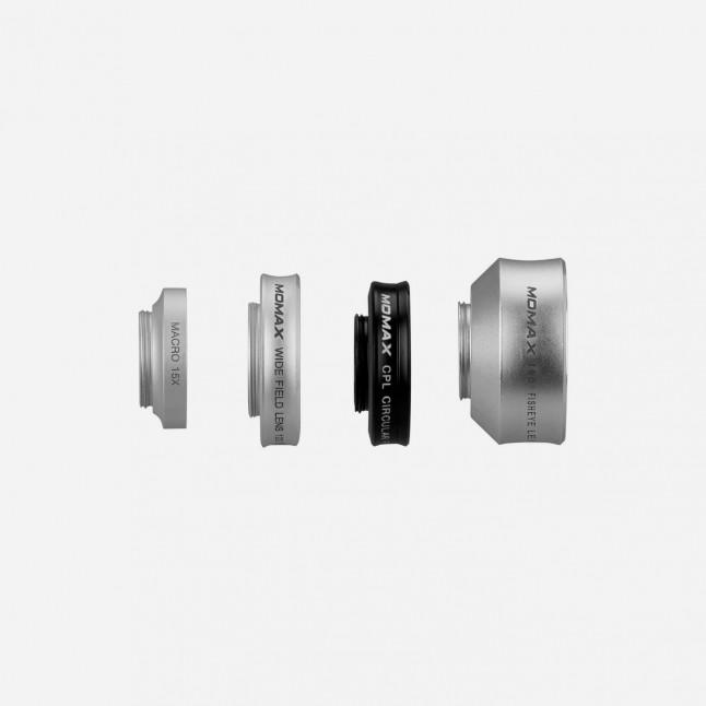 Набор линз Momax X-Lens 4 in 1 Superior Lens Set