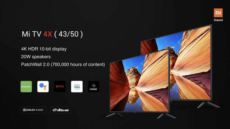 Xiaomi Mi TV 4A-Xiaomi Mi TV 4X