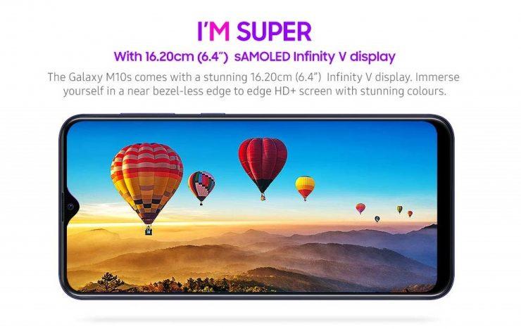 Samsung Galaxy M10s-Galaxy M30s