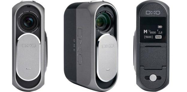 DxO One camera attachment for smartphones.