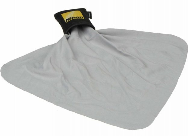 Nikon microfiber cleaning cloth