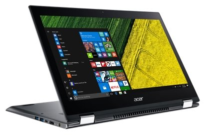 "Ноутбук Acer SPIN 5 (SP515-51GN-581E) (Intel Core i5 8250U 1600 MHz/15.6""/1920x1080/8Gb/1000Gb HDD/DVD нет/NVIDIA GeForce GTX 1050/Wi-Fi/Bluetooth/Windows 10 Home)"