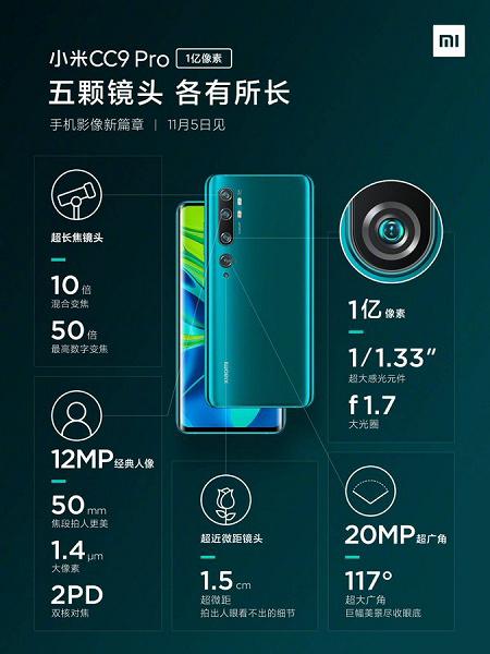 Xiaomi MiCC9Pro