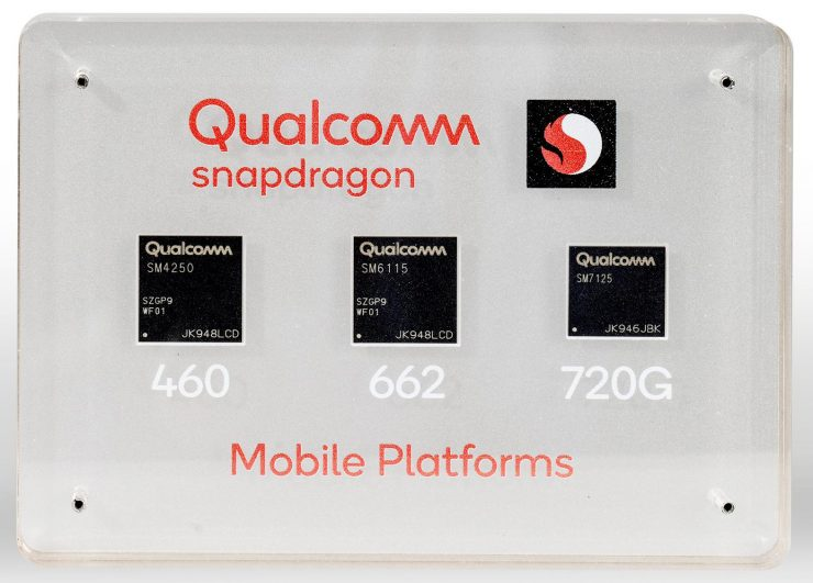 Qualcomm Snapdragon 720G-662-460