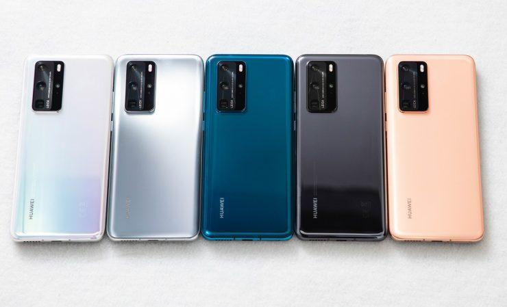 Huawei P40, P40 Pro-P40 Pro+