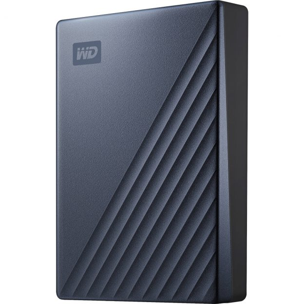 WD 4TB My Passport Ultra USB 3.0 Type-C WDBFTM0040BBL-WESN B&H