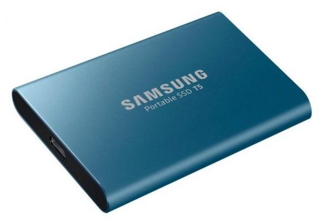 Внешний SSD Samsung Portable SSD T5 500 ГБ
