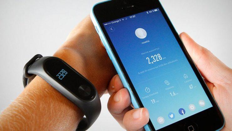 Совместимость фитнес-браслета и смартфона