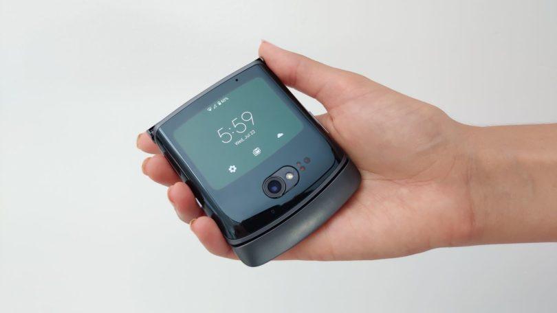 В России стартовали предзаказы «раскладушки» Motorola RAZR 5G