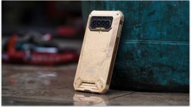 Защищенный смартфон B2021 оснащен батареей на 8000 мАч