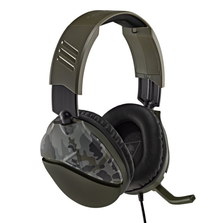 Recon 70 Green Camo Multiplatform Gaming Headset – Turtle Beach®