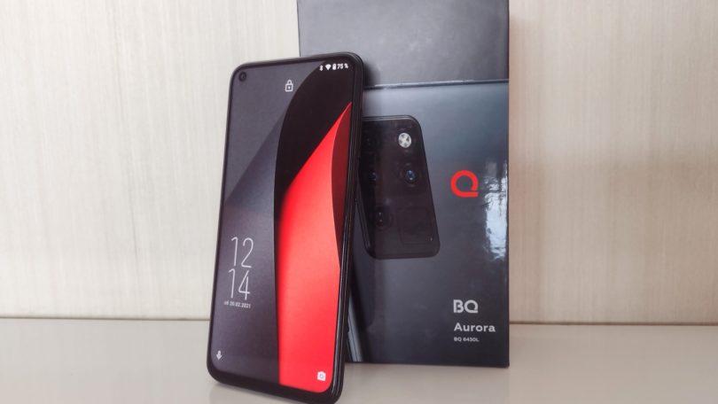 Обзор смартфона BQ 6430L Aurora – Флагман бюджетников