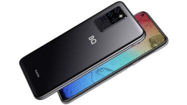 BQ анонсировала камерафон с ИИ 6430L Aurora