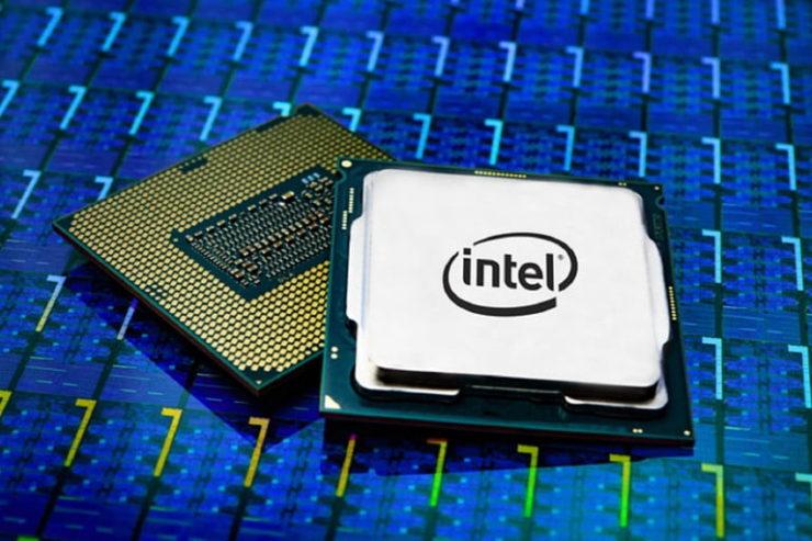 Stock photo of Intel 9th gen core processor