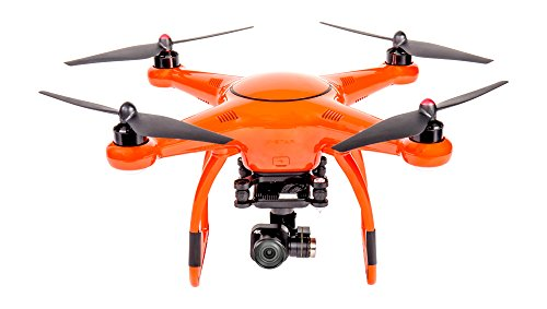 VOOCO X-Star Premium Drone with 4K Camera, 1.2-Mile HD Live View & Hard Case (Orange)