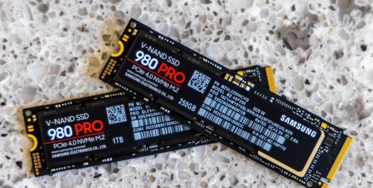 Сверхбыстрый SSD Samsung 980 Pro доступен в максимальной версии объёмом 2 ТБ
