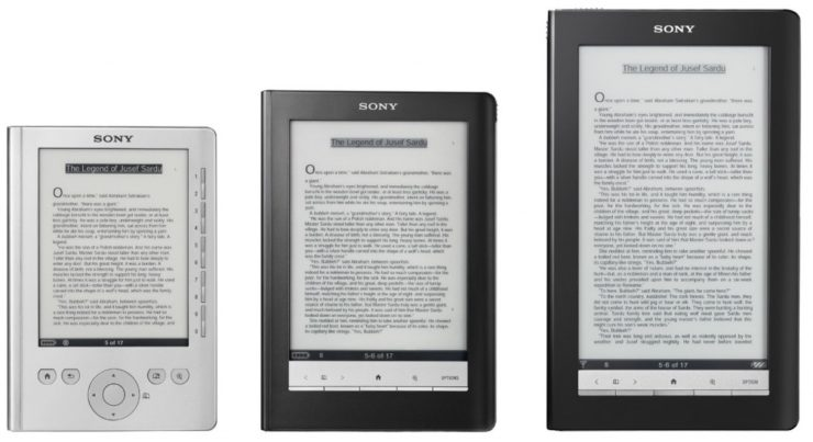 The Evolution of the Sony e-Reader – in Pictures - Good e-Reader