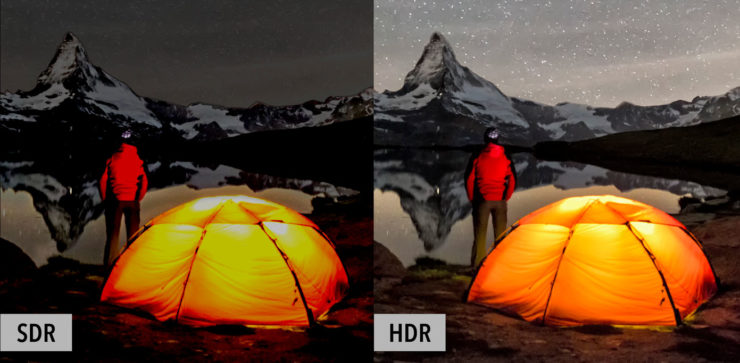 Видео с расширенным динамическим диапазоном (HDR) – Amazon Web Services
